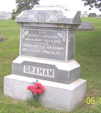GRAHAM, MARGARET E - Decatur County, Iowa | MARGARET E GRAHAM