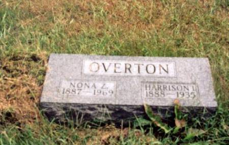 OVERTON, HARRISON AND NONA - Decatur County, Iowa | HARRISON AND NONA OVERTON