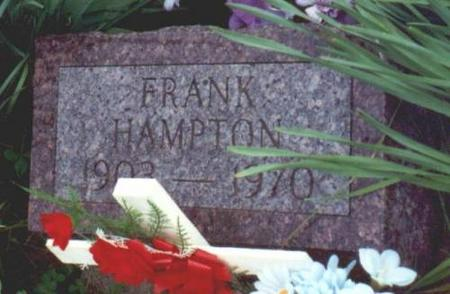 HAMPTON, FRANK - Decatur County, Iowa | FRANK HAMPTON