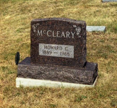 MCCLEARY, HOWARD C. - Decatur County, Iowa | HOWARD C. MCCLEARY