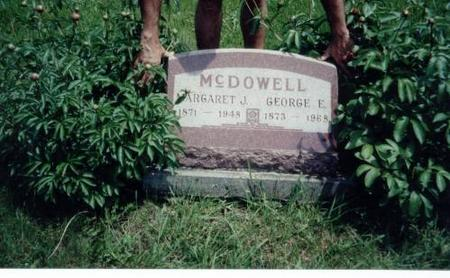 MCDOWELL, GEORGE E. AND MARGARET J. - Decatur County, Iowa | GEORGE E. AND MARGARET J. MCDOWELL