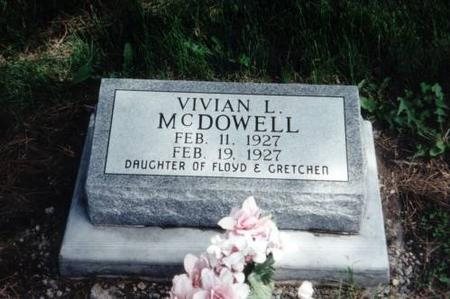 MCDOWELL, VIVIAN L. - Decatur County, Iowa | VIVIAN L. MCDOWELL