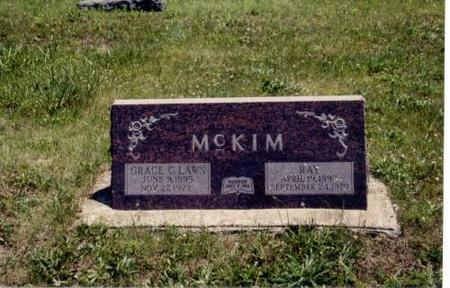 MCKIM, RAY AND GRACE - Decatur County, Iowa | RAY AND GRACE MCKIM