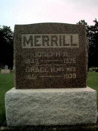 MERRILL, JOSEPH H. & GRACE HELEN (MITCHELL) - Decatur County, Iowa | JOSEPH H. & GRACE HELEN (MITCHELL) MERRILL