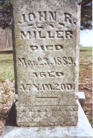MILLER, JOHN R. - Decatur County, Iowa | JOHN R. MILLER