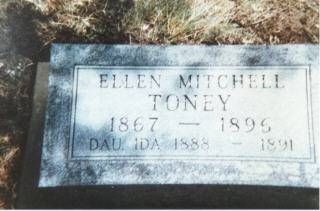 TONEY, ELLEN (MITCHELL) - Decatur County, Iowa | ELLEN (MITCHELL) TONEY