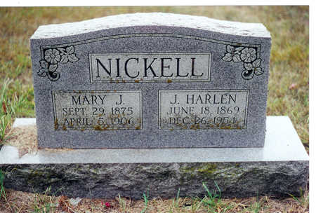 NICKELL, MARY - Decatur County, Iowa | MARY NICKELL