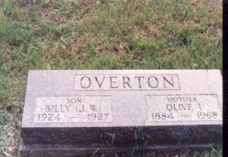 OVERTON, OLIVE I. AND JAMES W. - Decatur County, Iowa | OLIVE I. AND JAMES W. OVERTON