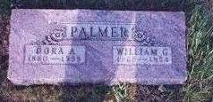 HALL PALMER, DORA A. - Decatur County, Iowa | DORA A. HALL PALMER