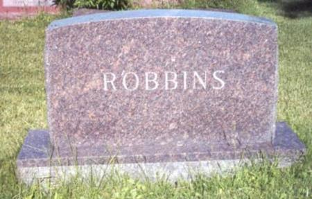ROBBINS, FAMILY STONE - Decatur County, Iowa | FAMILY STONE ROBBINS