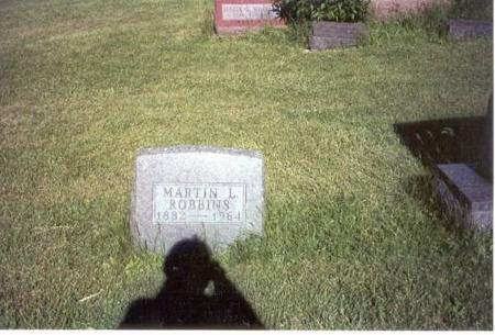 ROBBINS, MARTIN L. - Decatur County, Iowa   MARTIN L. ROBBINS