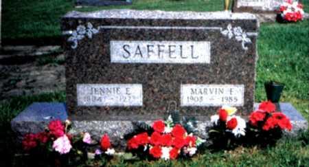 WATSON SAFFELL, JENNIE - Decatur County, Iowa | JENNIE WATSON SAFFELL