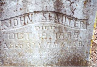 SLAUTER, JOHN - Decatur County, Iowa | JOHN SLAUTER
