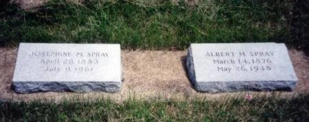 SPRAY, JOSEPHINE M. AND ALBERT M. - Decatur County, Iowa | JOSEPHINE M. AND ALBERT M. SPRAY