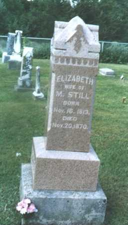SANDERS STILL, ELIZABETH - Decatur County, Iowa | ELIZABETH SANDERS STILL