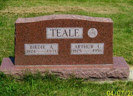 TEALE, ARTHUR L - Decatur County, Iowa | ARTHUR L TEALE