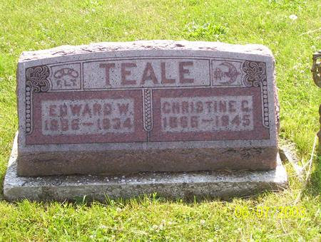 TEALE, CHRISTINE C. - Decatur County, Iowa | CHRISTINE C. TEALE