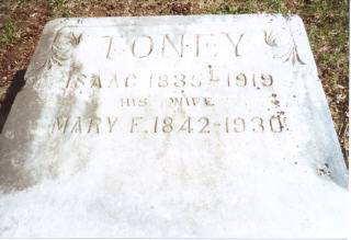 TONEY, ISAAC - Decatur County, Iowa | ISAAC TONEY
