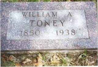TONEY, WILLIAM A. - Decatur County, Iowa | WILLIAM A. TONEY