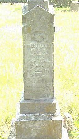 GRAHAM TURNER, THEODORA - Decatur County, Iowa | THEODORA GRAHAM TURNER