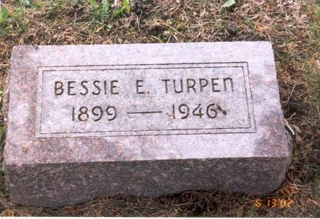 TURPEN, BESSIE E. - Decatur County, Iowa | BESSIE E. TURPEN