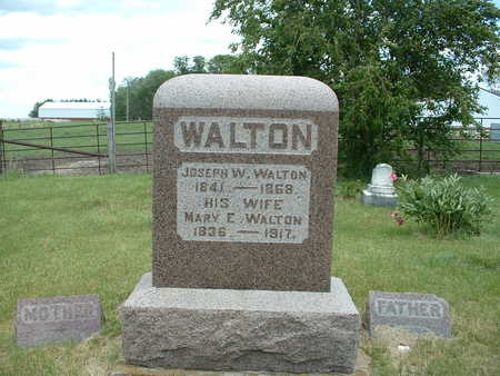 WALTON, MARY E. - Decatur County, Iowa | MARY E. WALTON