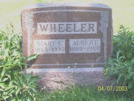 WHEELER, MARY ELLEN - Decatur County, Iowa | MARY ELLEN WHEELER