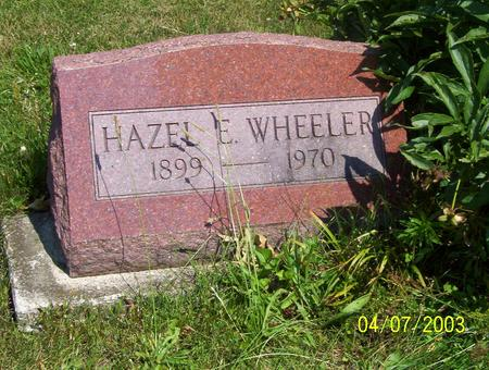 WHEELER, HAZEL - Decatur County, Iowa | HAZEL WHEELER