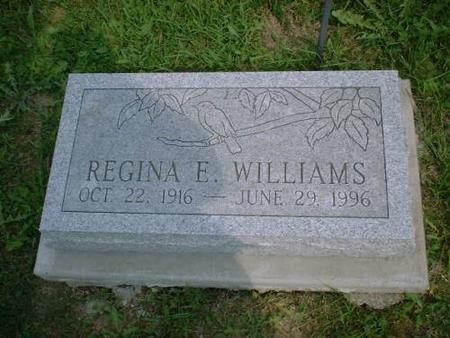 WILLIAMS, REGINA - Decatur County, Iowa | REGINA WILLIAMS