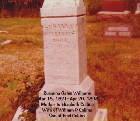 GATES WILLIAMS, SUSANNA - Decatur County, Iowa | SUSANNA GATES WILLIAMS