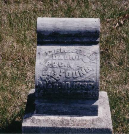YOUNG, GERATA - Decatur County, Iowa | GERATA YOUNG