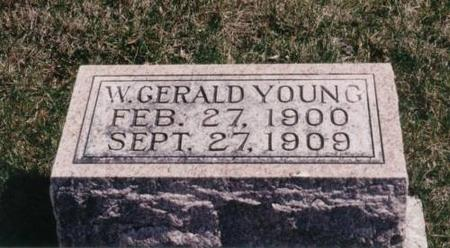 YOUNG, W. GERALD - Decatur County, Iowa | W. GERALD YOUNG