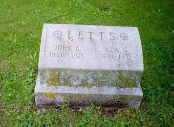 LETTS, ADA - Delaware County, Iowa | ADA LETTS