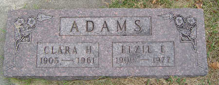 ADAMS, ELZIE E. - Delaware County, Iowa | ELZIE E. ADAMS