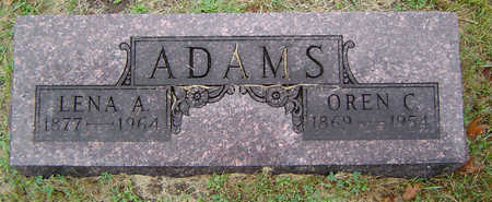 ADAMS, LENA A. - Delaware County, Iowa | LENA A. ADAMS
