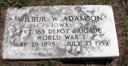 ADAMSON, WILBUR W. - Delaware County, Iowa | WILBUR W. ADAMSON