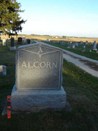 ALCORN, FAMILY MONUMENT - Delaware County, Iowa | FAMILY MONUMENT ALCORN