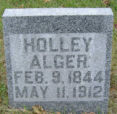 ALGER, HOLLEY - Delaware County, Iowa | HOLLEY ALGER