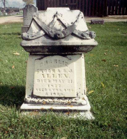 ALLEN, CHARLIE ENOCH - Delaware County, Iowa | CHARLIE ENOCH ALLEN