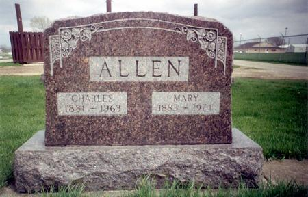 ALLEN, MARY - Delaware County, Iowa | MARY ALLEN