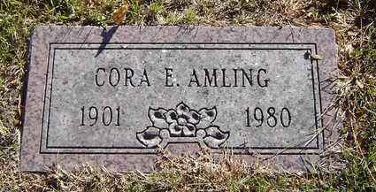 AMLING, CORA - Delaware County, Iowa | CORA AMLING