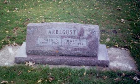 ARBEGUST, MARY ETTA - Delaware County, Iowa | MARY ETTA ARBEGUST