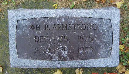 ARMSTRONG, WILLIAM B. - Delaware County, Iowa | WILLIAM B. ARMSTRONG