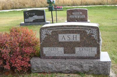 ASH, ERNEST - Delaware County, Iowa | ERNEST ASH