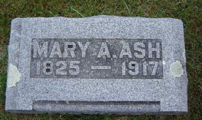 BELL ASH, MARY A. - Delaware County, Iowa | MARY A. BELL ASH