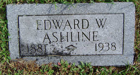 ASHLINE, EDWARD W. - Delaware County, Iowa | EDWARD W. ASHLINE