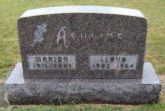 PILGRIM ASHLINE, MARION - Delaware County, Iowa | MARION PILGRIM ASHLINE