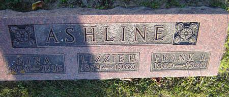 ASHLINE, FRANK R. - Delaware County, Iowa | FRANK R. ASHLINE