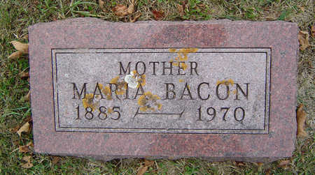 SMITH BACON, MARIA - Delaware County, Iowa | MARIA SMITH BACON