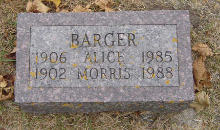 BARGER, MORRIS - Delaware County, Iowa | MORRIS BARGER